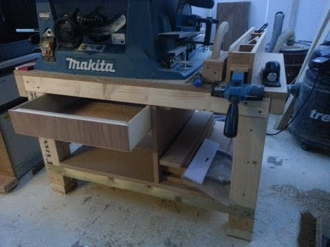 How to build a cheap Table saw stand from scrap. Pt1
