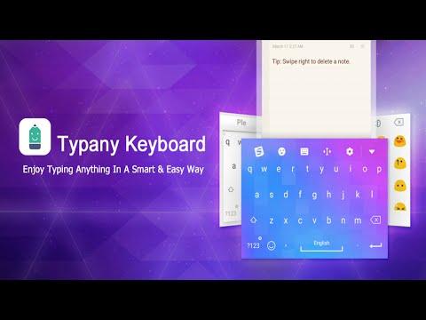 Typany Keyboard- Free Emojis