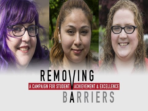 Removing Barriers Campaign Launch