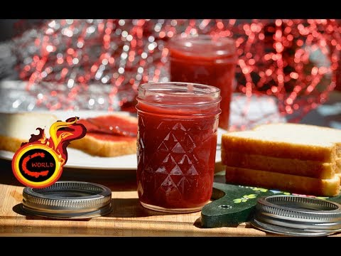 Homemade Strawberry Jam Recipe !!Fresh  Strawberry Jam Without Preservatives ||Ep:321