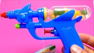 Candy Toy Gun - Water Gun with Jelly Belly Beans