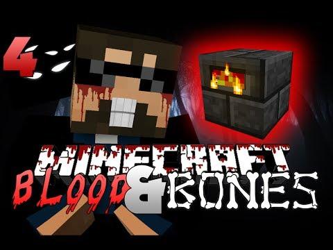 Minecraft FTB BLOOD AND BONES 4 - TOOL UPGRADES (Minecraft Mod Survival FTB)
