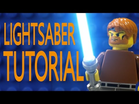 Lightsaber Tutorial in After Effects | Brick by Brick: Episode 1 (With AKPstudios)