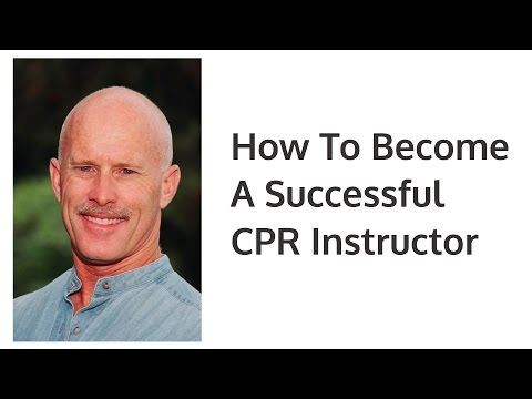 How to become A CPR Instructor