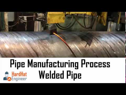 Pipe Manufacturing Process for Welded Pipe (SAW & ERW)