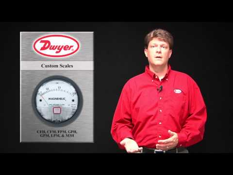 Custom Reading Velocity and Flow Scales on Differential Pressure Gauges (Episode 7)
