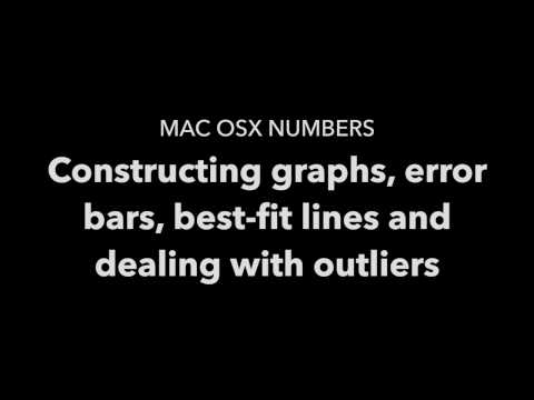 Graphing using Mac OSX Numbers