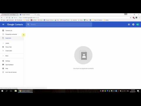 How to Use Contacts & Groups in Google Contacts (for Chrome) - 2017 Tutorial