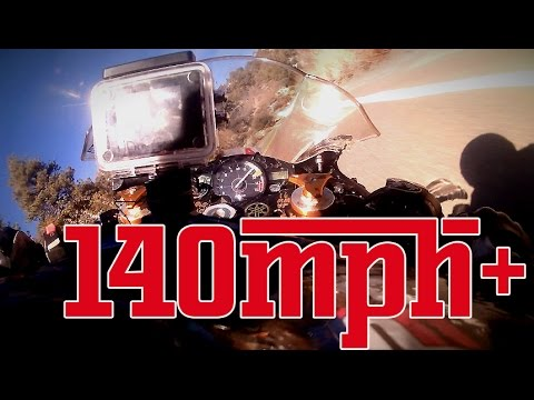 NIDYANAZO | R1 Trackbike in the mountains high speed cornering part2  [130-150mph]