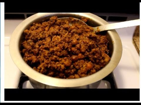 Kadala Curry Video Recipe (Kerala Style)  EPISODE:100