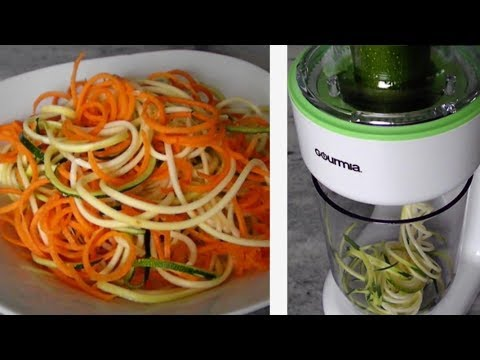 Gourmia Curly Q Spiralizer Review