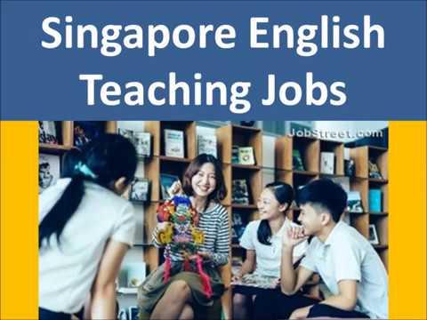 Singapore English Teaching Jobs