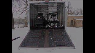 Алюминиевый прицеп для перевозки квадроцикла, снегоходов, болотохода) Prestige 950 ALC V