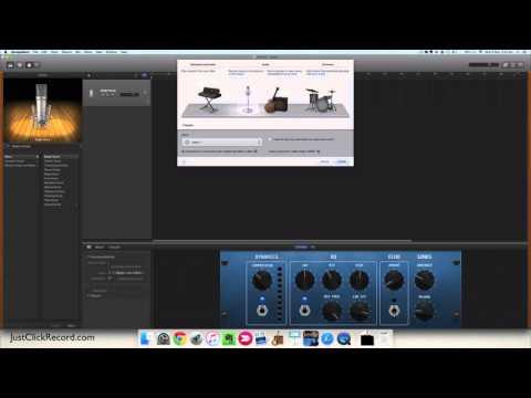 Multi-Track Recording With GarageBand