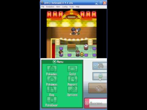 Pokemon Heartgold Badge 4 Part 3 - HM03 Surf and HM04 Strength.