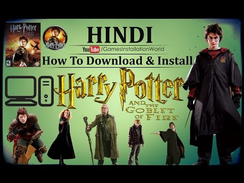 How To Install & Download Harry Potter and the goblet of fire Game In HINDI