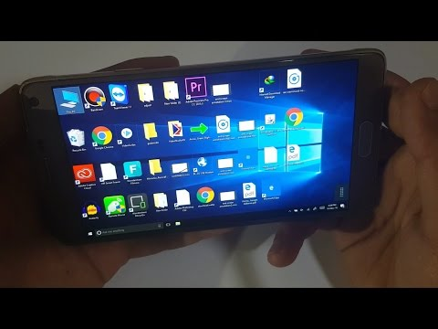INSTALL WINDOWS 10 ON  ANDROID SMARTPHONE  NOTE 5 AND NOTE 4