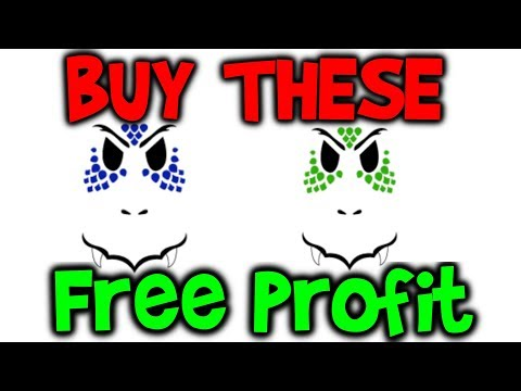 FREE PROFIT! Buy these two faces! Blue & Green Dragon Face