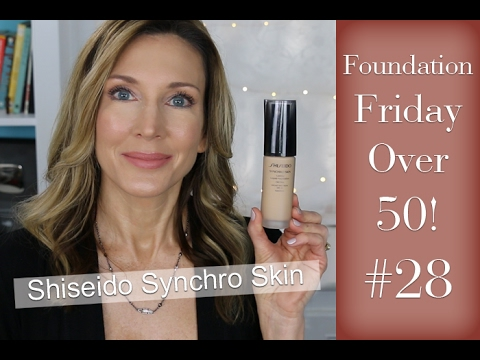 Foundation Friday Over 50 ~ Shiseido Synchro Skin