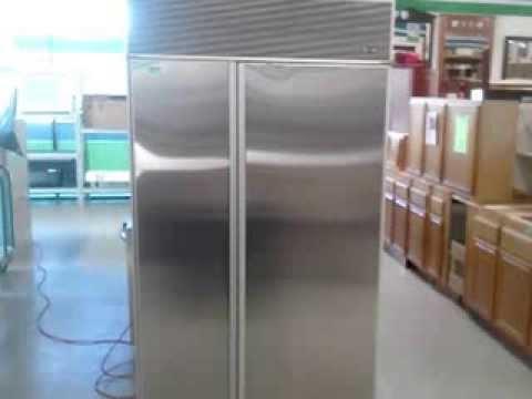 Subzero 532 Refrigerator - Demonstration Video
