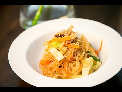 How to Stir Fry Japanese Vegetable Yam Noodles 日式蔬菜炒麵