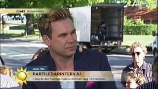 Jimmie Åkesson: Han är en katastrof - Nyhetsmorgon (TV4)