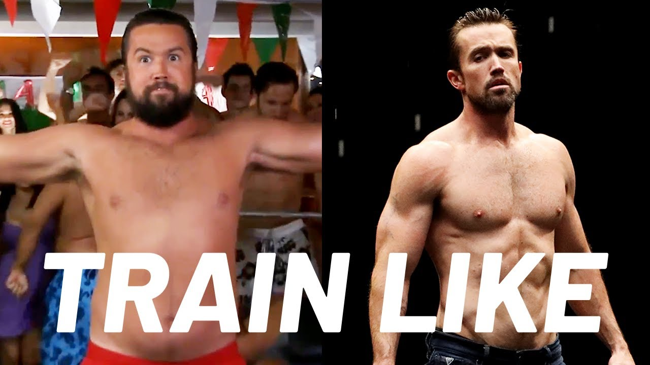 Rob McElhenney's 'Look Like a Fire Hydrant' Chest Workout   Train Like a Celebrity   Men's Health