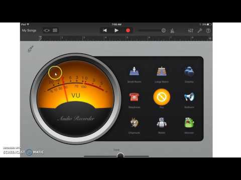 Podcasting with GarageBand for iPad