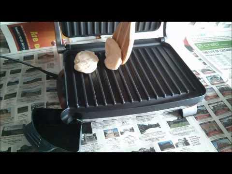 Pancake with Hamilton Beach Grill