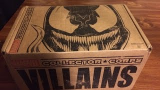 Marvel Collector Corps Unboxing VILLAINS! (October 2015)