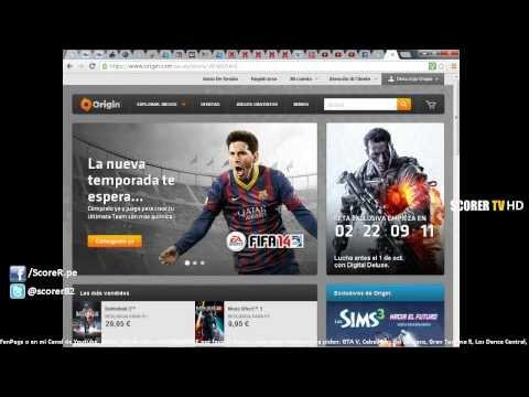 FIFA 14 PC: Cómo descargar el juego completo del Origin (Canjear Codigo) | Venta CD Keys