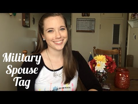 Military Spouse Tag