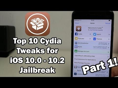 Top 10 Cydia Tweaks for iOS 10.0 - 10.2 Jailbreak (Part 1)