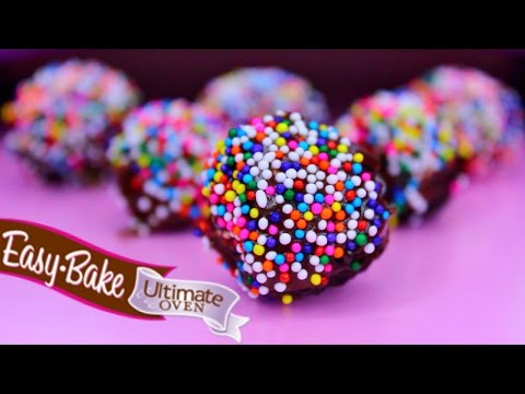 Easy Bake Oven Baking Mini Chocolate Truffles