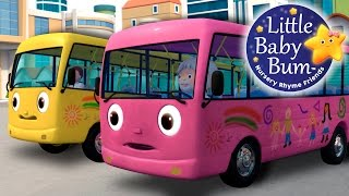 Wheels On The Bus | Part 8 | Nursery Rhymes | by LittleBabyBum!
