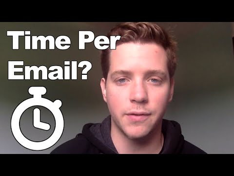 Cold Email Template: How long should you spend on a sales email?