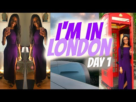 I'M IN LONDON + Going to the Jamaican Embassy! | Vlog 1 • Lawenwoss