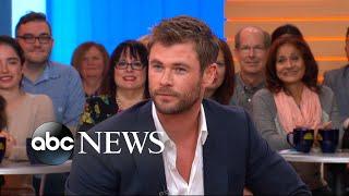 Chris Hemsworth dishes on