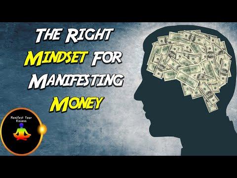 The Right Mindset For Manifesting Money - Bob Proctor