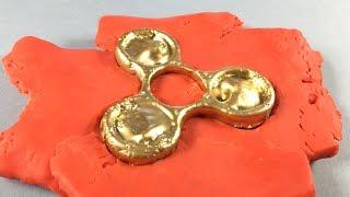 How to Make Gold Fidget Spinner