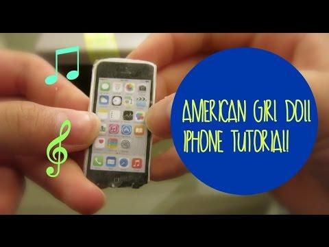 American Girl Doll iPhone Tutorial! Watch in HD!