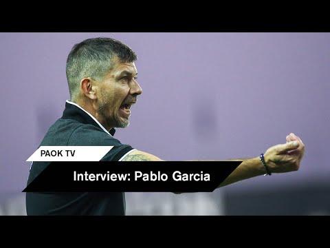 """Γκαρσία: """"Σεβασμός και πειθαρχία"""" - PAOK TV"""