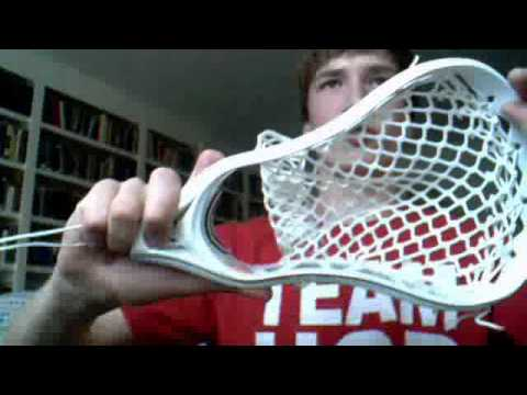 How to String the Sidewalls on a Lacrosse Head