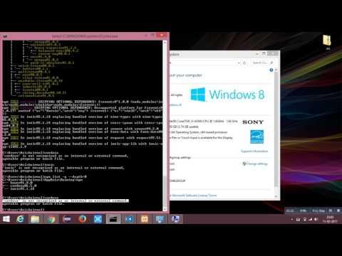 Setting Environment Variables - Windows
