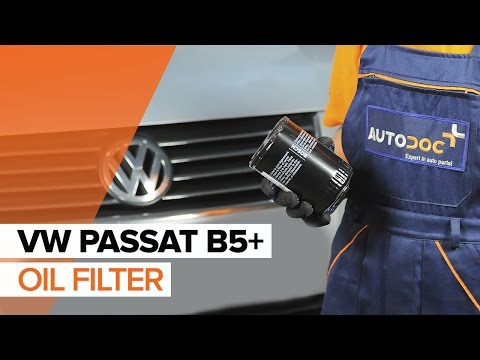 How to replace Engine Oil and Oil filter on VW PASSAT B5+ TUTORIAL | AUTODOC