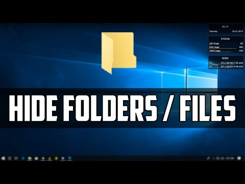How To Hide/Unhide Folders and Files in Windows 7