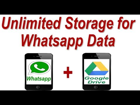 Unlimited Storage space for Whatsapp Data ! Secure your Whatsapp Data
