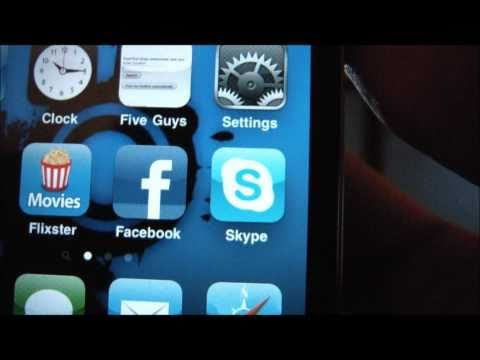 Skype Video from iPhone 4 to PC
