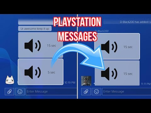 READING PSN MESSAGES #4