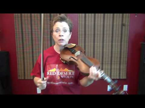 How to play on your violin's G string